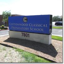 Cottonwood Classic Sign