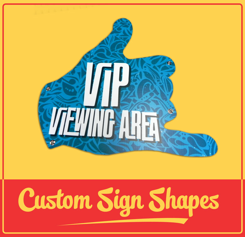 Custom Sign Shape