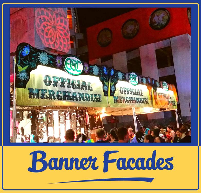 EDC Banner Facades