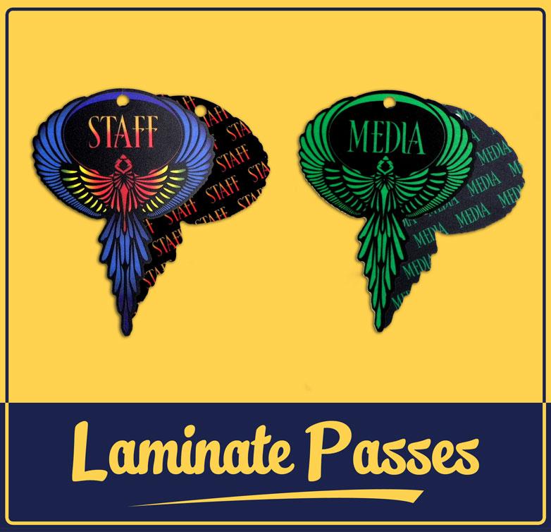 Envision Laminate Passes