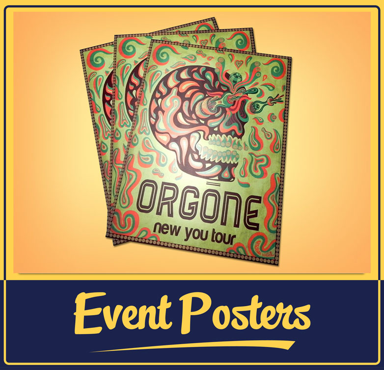 Orgone New You Tour Poster